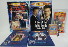 DOCTOR WHO : BOOKS, TRADING CARDS, KEY RING & SMALL STANDEE BUNDLE (BP)