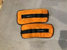 Ankle Wrist Arm Leg Weights Adjustable Strap Comfort 10lb pair - 20lbs Total