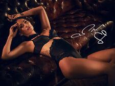 Megan Fox SEXY SIGNED PHOTO Photoshoot LINGERIE BRA CORSET AUTOGRAPH *LOOK*