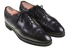 Church's Custom Grade Black Leather Austerity Wingtip Oxford Shoes 10