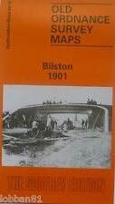 Old Ordnance Survey Map Bilston near Bradley Staffordshire 1901 Sheet 62.16 new