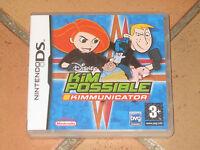 Jeu Nintendo GameBoy - Kim Possible Kimmunicator- pr consoles DS DSI LIte DS XL