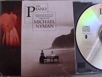 The Piano- OST by Michael Nyman- 19 Track-Vers. WIE NEU