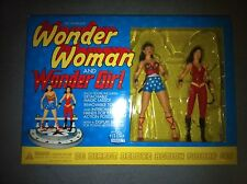 Silver Age Wonder Woman and Wonder Girl DC Direct Deluxe Action Figure Set