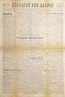 Quotidiano di Varese - Corriere Prealpino N. 24 Anno I Giappone offre resa 1945