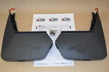 2015 Chevrolet Tahoe w/o Power Running Board Rear Mud Flaps new OEM 22922767