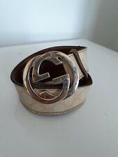 Gucci Monogram Belt Logo G G Ceinture Cintura Gucci Logo G G