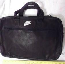 Nike  Laptop Computer Messenger Black Bag - LEATHER LIKE NO STRAPS--VG