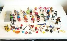Playmobil People Victorian Queen King Fairy Unicorn Diver Astronaut Soccer Lot