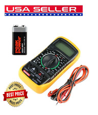 Digital Lcd Multimeter Voltmeter Ohmmeter Ammeter Ac Dc Ohm Volt Multi Tester