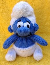 KNITTING PATTERN - Smurf inspired chocolate orange cover or 17 cms  toy