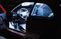 7x Lámparas Iluminación Interior Blanco Para vw Golf 4 (IV) de 1997-2005 Tuning