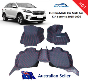 Kia Sorento 2015-2020 Full Surrounded Premium Custom Made Car Floor Mats/Carpets