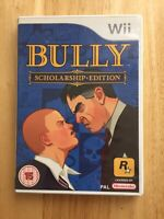 Nintendo Wii, Bully Scholarship Edition. With Instructions. FREE UK P&P