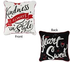 Nwt Disney Parks Minnie Mouse Pillow Kindness is Always in Style, Kind Heart