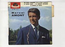 45 tours EP Marcel Amont ma petite symphonie 1960 EXC+