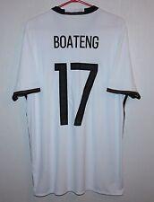 SQUADRA nazionale Germania Home Camicia 16/17 #17 BOATENG ADIDAS nuova con etichetta taglia L