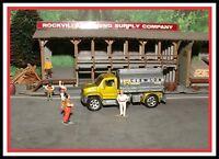 Matchbox: HO Scale _ 2006 _ Utility Truck _ (Clawson EcoFuel Co.)