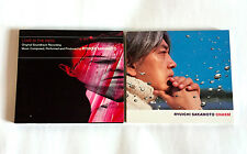 RYUICHI SAKAMOTO lot of 2 CD Love Is The Devil OST & Chasm YMO