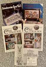 Lot Of 7 Easter Cross Stitch Pattern Booklets Cricket Collection Alma Lynne
