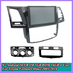 9'' For Toyota Fortuner Hilux 05-14 Stereo Radio MP5 Player GPS FM WiFi 1+16GB