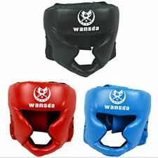 """Boxing Headgear, Essential Professional Synthetic Leather Mma Protector Ufc """" &"""