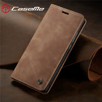 For Xiaomi Mi 9T 9 Redmi K20 Pro Genuine Leather Magnetic Wallet Flip Case Cover
