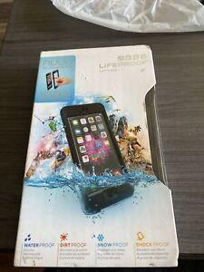 Lifeproof Nuud Waterproof Case For Apple iPhone 6 Plus Only 5.5 Inch Black NIB