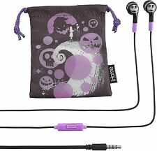 Nightmare Before Christmas Noise Isolating Earbuds with Built in Microphone...