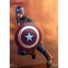 Iron Studios Avengers Age Of Ultron Captain America - 1:10 Art Scale