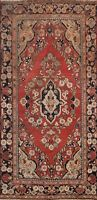 Semi-Antique RED Floral Traditional Hand-knotted Area Rug Classic Oriental 4x6