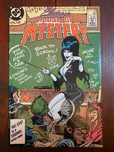 ELVIRA'S HOUSE OF MYSTERY #10 1986 VF+ 8.5 Copper Age Horror DC Comics