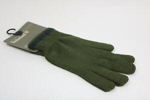 Timberland Men's Green Knitted Gloves J1111