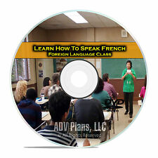 Learn How To Speak French, Fluent  Foreign Language Training Class, DVD D93
