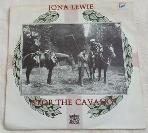 """Jona Lewie - Stop The Cavalry - 7"""" Vinyl Single 1980"""