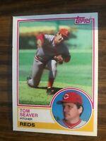 1983 Topps  #580 Tom Seaver Cincinnati Reds  NrMt