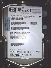 72.8 gb 15K HP Compaq ULTRA WIDE SCSI BF07289BC4 365699 MAX3073 HARD disk DRIVE