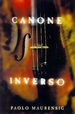 Canone Inverso: A Novel, Paolo Maurensig, Very Good Book