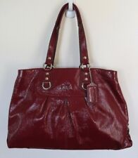 Coach  Hobo Bag Patent Leather RED purse