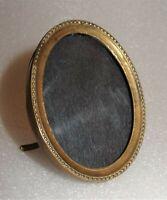 tout petit cadre ovale à portrait 19ème