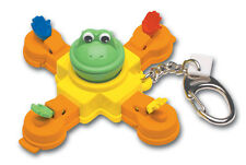 MR. MOUTH Game Keychain Keyring Frog Fly retired travel doll Basic Fun NEW