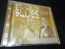 LOUIS ARMSTRONG ST. LOUIS BLUES CD LIKE NEW