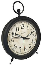 Westclox Analog Top Ring Decor Alarm Clock 75043