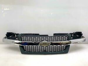 04-12 Chevrolet Colorado Grille Assembly Chrome w/ Medium Green (9539) OEM