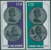 Cook Islands 1974 SG492-493 Cook Second Voyage set MLH