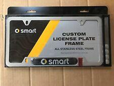 SMART Car Metal License Plate Frame ForTwo ForFour Roadster Car SUV Van Truck