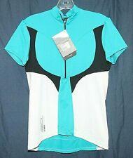 De Marchi Womens Contour Light Cycling Jersey Sz SXL NWT White/Blue/Black