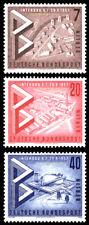 EBS West Berlin 1957 Interbau Architecture Exhibition Michel 160-162 MNH**