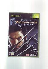 X-MEN 2 WOLVERINE'S REVENGE - MICROSOFT ORIGINAL XBOX GAME / 360 COMPATIBLE - NM