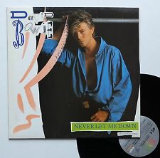 "Vinyle maxi David Bowie  ""Never let me down"""